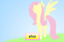 Size: 1012x664 | Tagged: explicit source, flash, fluttershy, game, safe, solo
