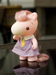 Size: 600x800 | Tagged: safe, artist:budluvinpreacher, g1, irl, photo, pinky, takara pony, toy