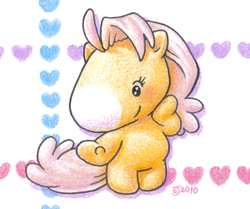 Size: 837x699 | Tagged: safe, artist:hamigaki-momo, g1, takara pony