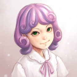 Size: 850x850 | Tagged: artist:ninjaham, humanized, safe, solo, sweetie belle