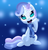 Size: 900x936 | Tagged: safe, artist:fethur, sweetie belle, pony, unicorn, clothes, scarf, snow, snowfall, snowflake, solo, winter