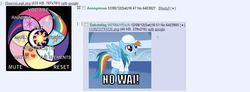 Size: 955x351 | Tagged: safe, screencap, rainbow dash, /mlp/, 4chan, 4chan screencap, thread, wat