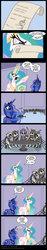Size: 600x3179 | Tagged: safe, artist:niban-destikim, princess celestia, princess luna, alicorn, pony, skeleton pony, angry, bone, comic, dark comedy, female, letter, letter to celestia, mare, parody, simpsons did it, skeleton, spider web, the simpsons