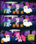 Size: 2251x2749 | Tagged: safe, artist:toxic-mario, apple bloom, pinkie pie, scootaloo, sweetie belle, earth pony, pegasus, pony, unicorn, candy, cart, comic, costume, cutie mark crusaders, female, filly, high res, mare, nightmare night, photoshop