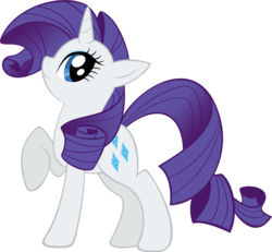 Size: 1158x1072   Tagged: safe, artist:glancojusticar, rarity, pony, unicorn, female, mare, photoshop, raised hoof, simple background, solo, transparent background