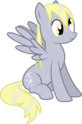 Size: 1664x2500 | Tagged: dead source, safe, artist:maximillianveers, derpy hooves, pegasus, pony, adobe illustrator, adobe imageready, female, mare, simple background, sitting, solo, transparent background, vector, wet, wet mane
