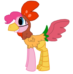 Size: 788x801 | Tagged: safe, artist:starryoak, pinkie pie, earth pony, pony, animal costume, bubble berry, chicken pie, chicken suit, clothes, costume, male, rule 63, simple background, solo, stallion, transparent background