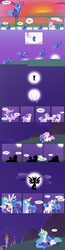 Size: 1188x4586 | Tagged: alicorn, artist:egophiliac, canterlot, cheering, comic, cuddling, cute, cutie mark, eyes closed, female, filly, flapping, flying, foal, frown, glare, gritted teeth, hiding, lidded eyes, looking up, lunabetes, magic, mare, moon, moon work, open mouth, pink-mane celestia, ponies riding ponies, pony, princess celestia, princess luna, prone, raised hoof, s1 luna, sad, safe, silhouette, sisters, sitting, smiling, spread wings, sun, sunset, sweat, sweatdrop, teasing, tired, wings, woona, younger