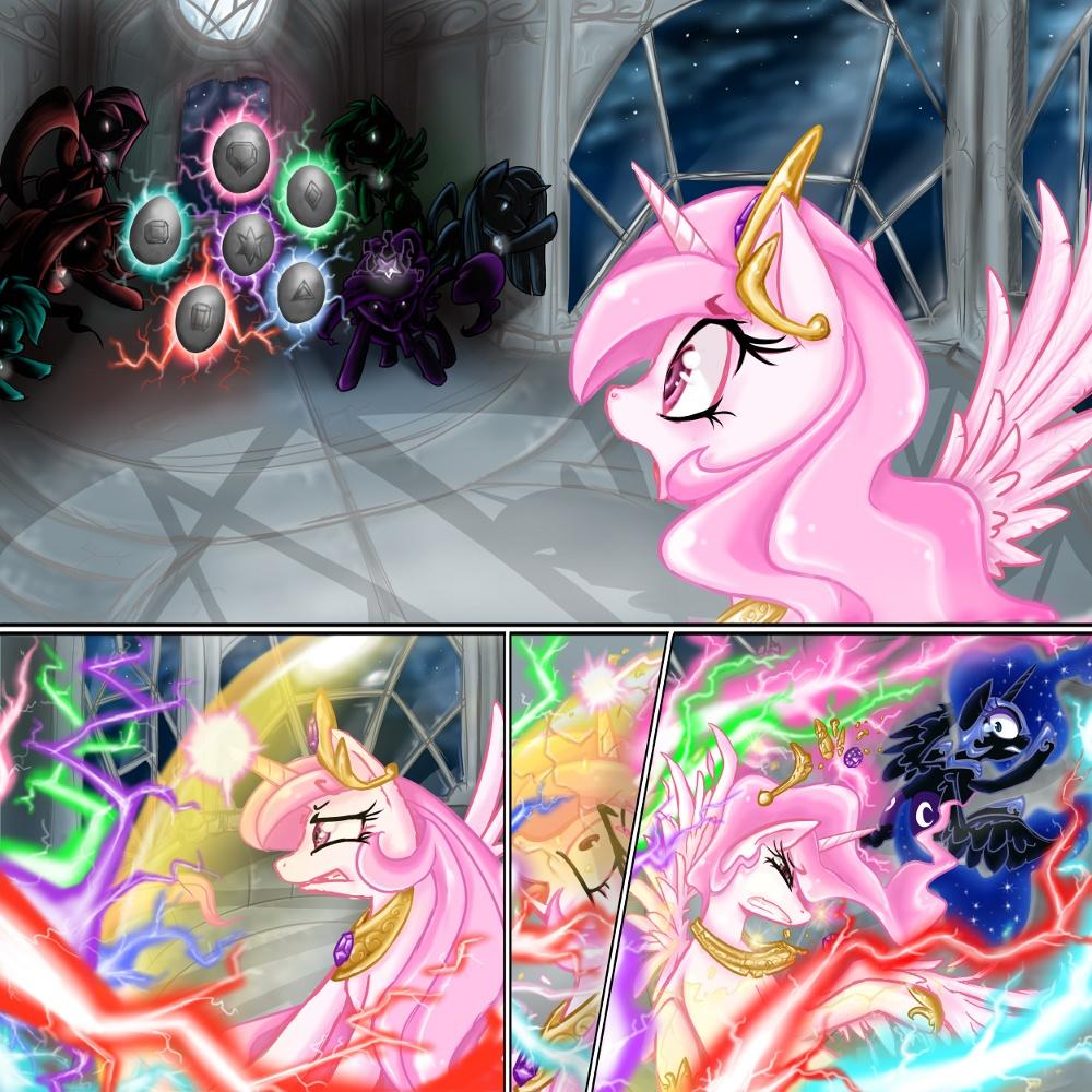 The Nightmare Ponies by eel2004 on DeviantArt