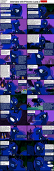 Size: 1282x4018 | Tagged: caption, celestias servant interview, comic, interview, luna, princess luna, safe