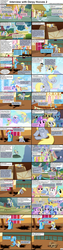 Size: 1282x5090 | Tagged: amethyst star, applebuck season, apple bumpkin, apple cobbler, apple family member, background pony, blossomforth, blueberry cloud, bon bon, caption, carrot top, cherry berry, cloud kicker, comic, comic:celestia's servant interview, cool star, crafty crate, daisy, derpy hooves, dizzy twister, doctor whooves, dragonshy, earth pony, edit, edited screencap, feeling pinkie keen, female, fight, flower trio, flower wishes, golden harvest, green isn't your color, griffon the brush off, hurricane fluttershy, image macro, implied beating, interview, iron will, lemon hearts, lightning bolt, lily, lily valley, look before you sleep, lucky clover, lyra heartstrings, male, mare, meadow song, meme, merry may, minuette, orange swirl, parasol, pegasus, pinkie pie, pony, putting your hoof down, rainbow dash, rainbowshine, roseluck, royal riff, safe, sassaflash, screencap, seafoam, sea swirl, shoeshine, skyra, sonic rainboom (episode), stallion, starburst (character), stardancer, sunny rays, sunshower raindrops, swarm of the century, sweetie drops, text, the last roundup, time turner, twinkleshine, unicorn, wall of tags, white lightning