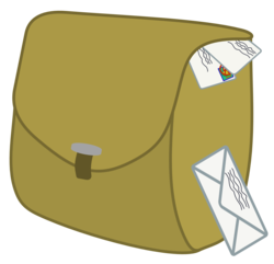 Size: 1500x1443 | Tagged: safe, artist:rildraw, letter, mailbag, no pony