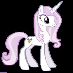 Size: 2000x2000 | Tagged: safe, artist:larsurus, fleur-de-lis, pony, unicorn, female, high res, mare, simple background, smiling, solo, transparent background, vector