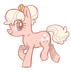 Size: 800x800 | Tagged: safe, artist:needsmoarg4, lickety split, earth pony, pony, female, g1, g1 to g4, generation leap, mare, simple background, smiling, solo, white background