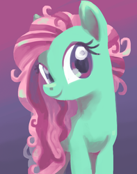 Size: 631x800 | Tagged: safe, artist:needsmoarg4, ivy, earth pony, pony, female, g1, g1 to g4, generation leap, mare, smiling, solo