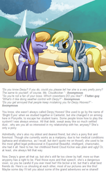 Size: 500x817 | Tagged: safe, artist:reuniclus, cloud kicker, derpy hooves, pegasus, pony, ask, duo, female, mare, working hard hardly working