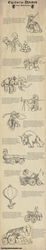 Size: 893x4851 | Tagged: dead source, safe, artist:pooryorick, buffalo, earth pony, pegasus, pony, equestria divided, armor, army roster, battering ram, blackletter, cannon, female, flying, heavy armor, helmet, hot air balloon, house earthborn, lasso, male, mare, monochrome, rocket launcher, rope, scale armor, scale mail, soldier, spear, stallion, text, weapon