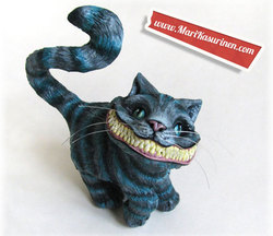 Size: 550x475 | Tagged: alice in wonderland, barely pony related, cheshire cat, creepy, creepy grin, irl, nightmare fuel, photo, safe, toy, toy mods