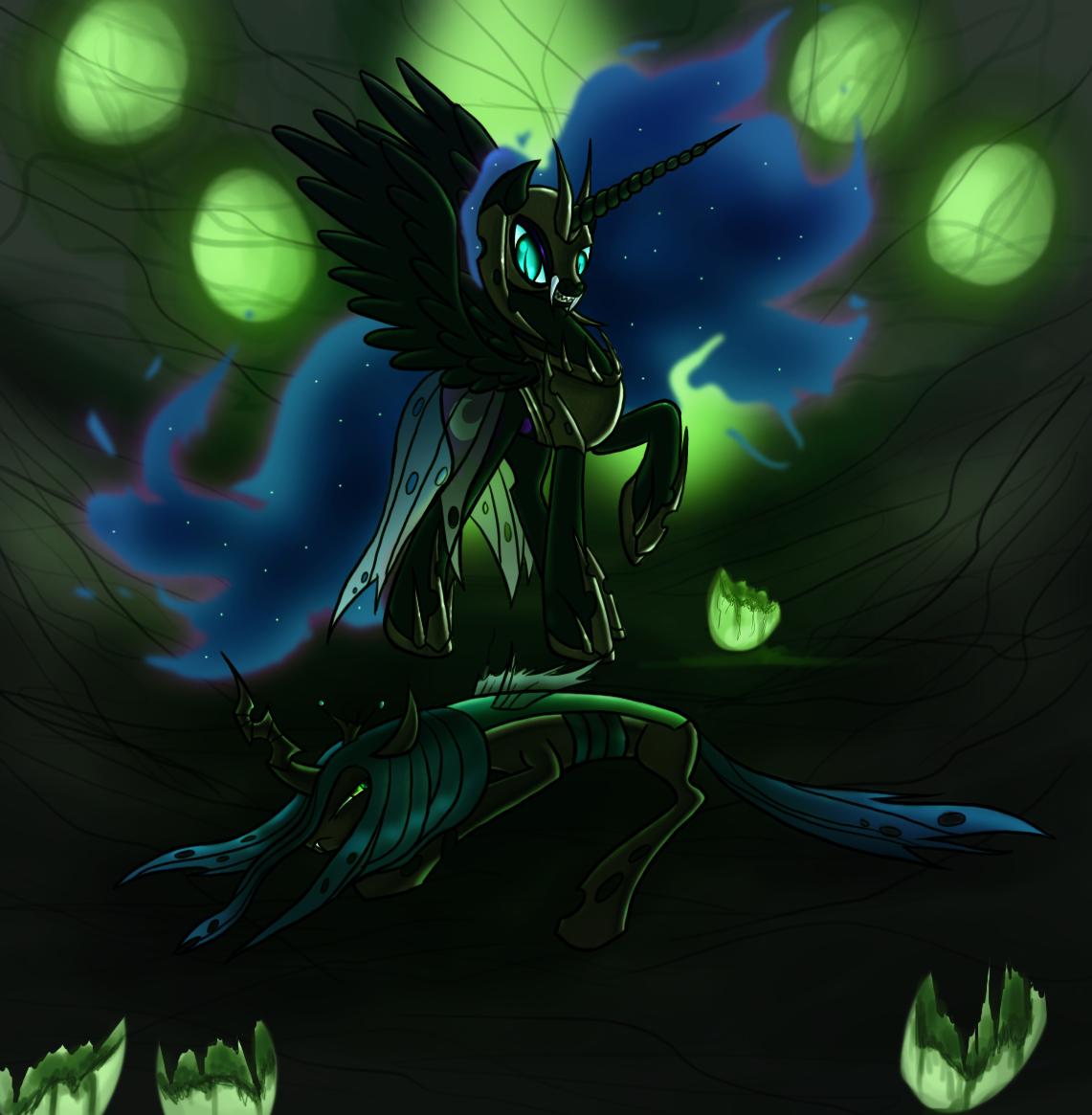 nightmare moon, queen