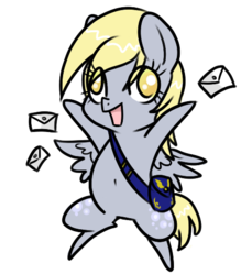 Size: 477x521 | Tagged: artist:rannarbananar, derpy hooves, female, mare, pegasus, pony, safe, simple background, solo, transparent background