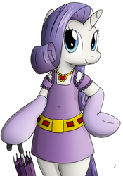 Size: 461x659 | Tagged: safe, artist:tg-0, rarity, anthro, clothes, dress, gloves, simple background, white background