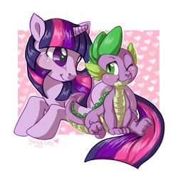 Size: 700x700 | Tagged: safe, spike, twilight sparkle