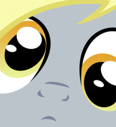 Size: 500x549 | Tagged: close-up, derpy hooves, female, mare, pegasus, pony, safe, solo, stare