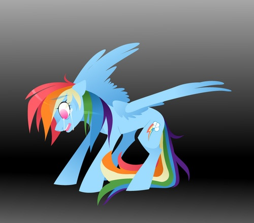Gallery For > Sad Rainbow Dash Crying