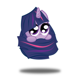 Size: 3508x3508 | Tagged: safe, artist:zackira, twilight sparkle, curled up, cute, floating, hiding, high res, long tail, looking at you, part of a set, peeking, simple background, sphere ponies, transparent background, twiabetes, vector