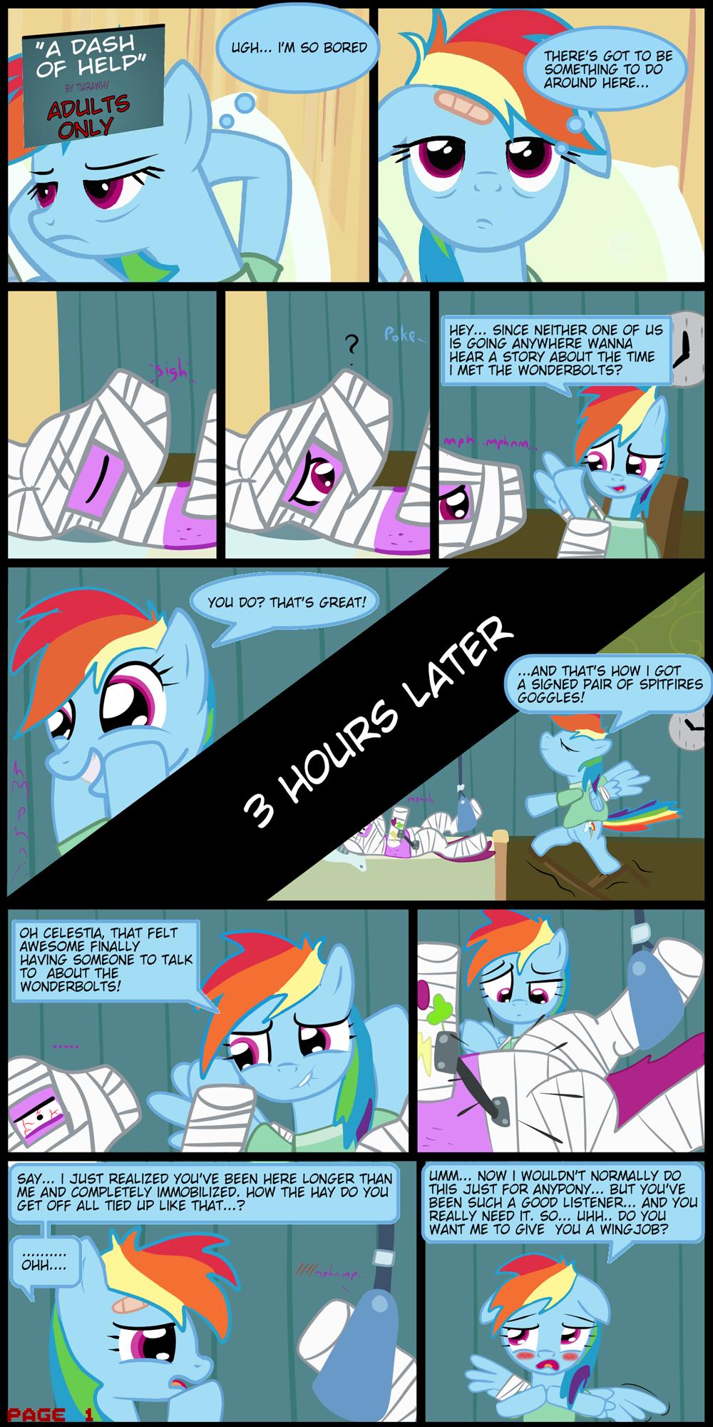 dash comics porn rainbow mlp