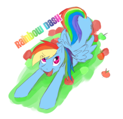 Size: 800x779 | Tagged: safe, artist:mi star, rainbow dash, plot