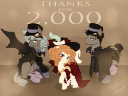Size: 1144x863 | Tagged: safe, artist:the-orator, oc, oc only, ask whirly and the night guards, steampunk, tumblr