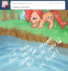 Size: 672x700 | Tagged: dead source, safe, artist:dhui, pinkie pie, ask tired pie