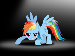 Size: 1900x1402 | Tagged: safe, artist:tgolyi, rainbow dash, black background, simple background, solo, svg, vector