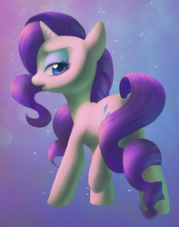 Size: 777x988 | Tagged: safe, artist:dawnfire, rarity, colored pupils, female, solo
