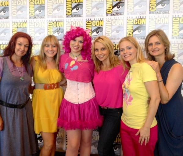 andrea libman pinkie pie and fluttershy