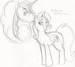 Size: 900x804 | Tagged: dead source, safe, artist:enigmaticfrustration, prince blueblood, trixie, pony, unicorn, bluetrix, female, male, mare, shipping, stallion, straight