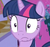 Size: 500x473 | Tagged: safe, screencap, twilight sparkle, pony, cropped, female, mare, solo, surprised