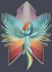 Size: 1500x2064 | Tagged: artist:twodeepony, rainbow dash, safe, wings