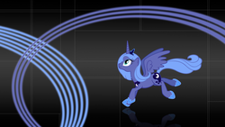 Size: 1920x1080 | Tagged: artist:sirpayne, leaping, princess luna, s1 luna, safe, solo, wallpaper