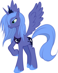 Size: 2368x2981 | Tagged: artist:khyperia, dead source, high res, princess luna, s1 luna, safe, simple background, solo