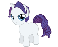 Size: 900x724 | Tagged: artist:icedroplet, colt, elusive, part of a set, rarity, rule 63, safe, simple background, solo, transparent background, vector
