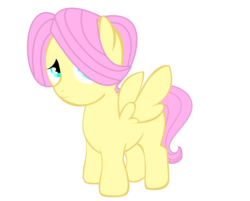 Size: 900x724 | Tagged: artist:icedroplet, butterscotch, colt, fluttershy, part of a set, rule 63, safe, simple background, solo, transparent background, vector