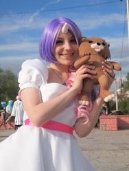 Size: 3024x4032   Tagged: safe, artist:chou-kou, sweetie belle, human, cosplay, irl, irl human, pedobear, photo