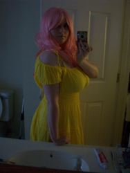 Size: 2292x3056   Tagged: safe, artist:sailorusagichan, fluttershy, human, cosplay, curvy, high res, irl, irl human, photo, solo