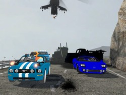 Size: 1024x768 | Tagged: car, ford, ford gt, gmod, gun, human, mustang, rainbow dash, safe, spy, team fortress 2