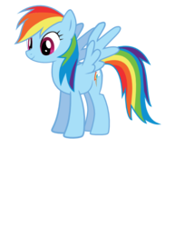 Size: 612x792 | Tagged: artist:ralek, rainbow dash, safe, simple background, solo, svg, transparent background, vector