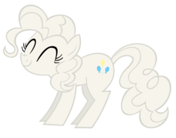 Size: 2875x2256 | Tagged: artist:draikjack, flour, pinkie pie, safe, simple background, transparent background, vector