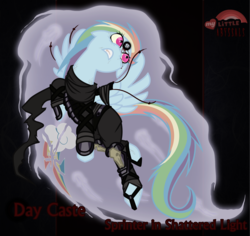 Size: 2480x2343 | Tagged: artist:rhanite, crossover, exalted, rainbow dash, safe
