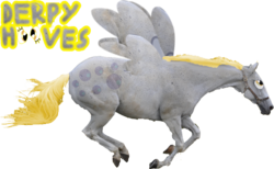 Size: 640x393 | Tagged: safe, derpy hooves, horse, pegasus, pony, female, hoers, mare, photoshop